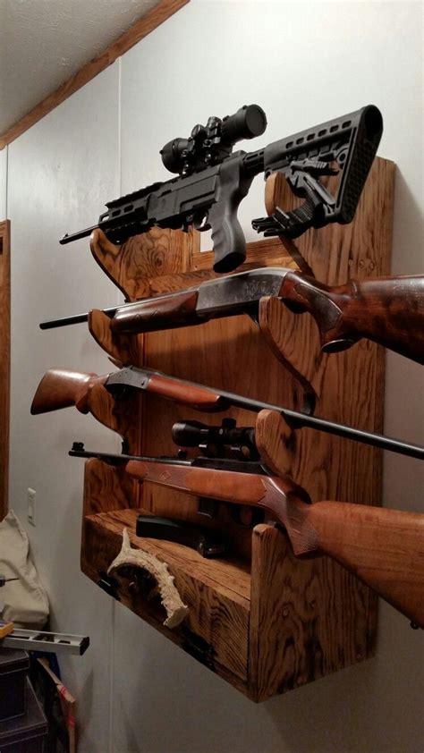 pin  ideal gun rack rifles pistols hand guns ammo antler
