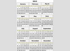 Calendar Templates 2013 printable calendar templates