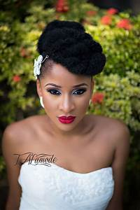 Striking Natural Hair Looks For The 2015 Bride TAlamode