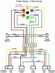 7 Way Trailer Plug Wiring Diagram Ford F350