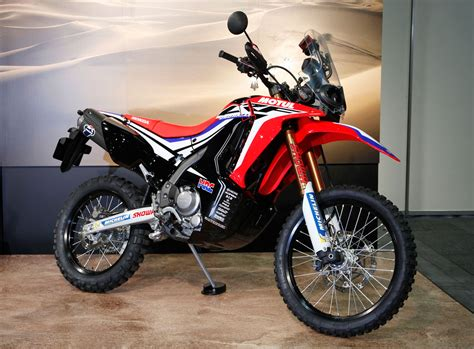 honda crf honda reveals crf250 rally prototype