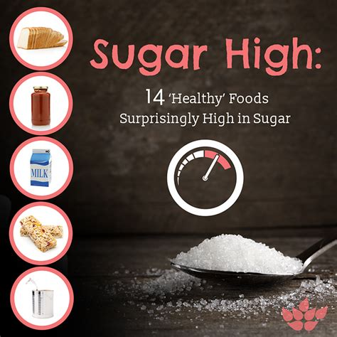 sugar foods surprisingly food healthy health avoid diligent proof must following