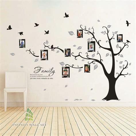 family tree bird photo frame vinyl nursery wall quotes wall stickers pd508 ebay