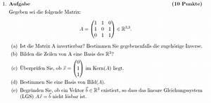 Eigenwert Matrix Berechnen : algebra inverse einer matrix berechnen mathelounge ~ Themetempest.com Abrechnung