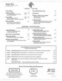 1 of 5 price lists menus hyde park restaurant daytona fl daytona american