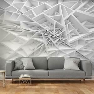 Fototapeten 3d Effekt : vlies fototapete 3d effekt abstrakt grau tapete 3d ~ Watch28wear.com Haus und Dekorationen