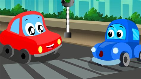 red car lets drive  kids video toddler