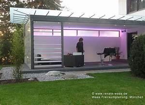 Garten überdachung Freistehend : terrasse gestalten garten modern kunstrasen garten ~ Whattoseeinmadrid.com Haus und Dekorationen