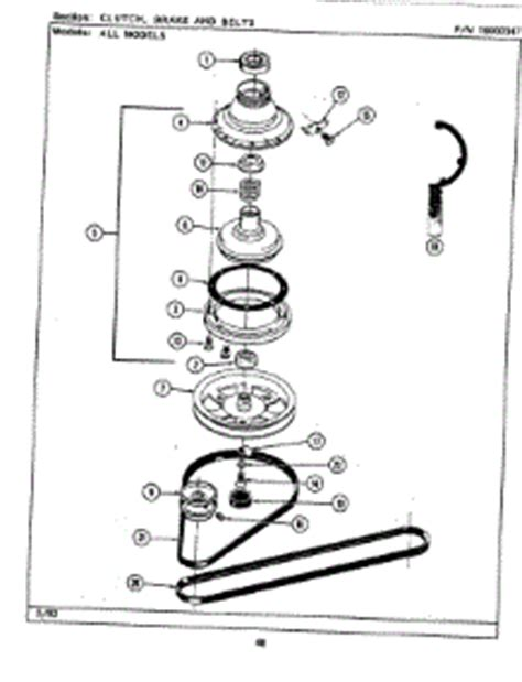 Parts For Maytag Lataaw Washer Appliancepartspros
