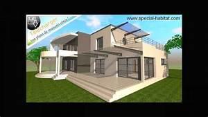 Plans De Maison Moderne Com Cubique Moderne Building A