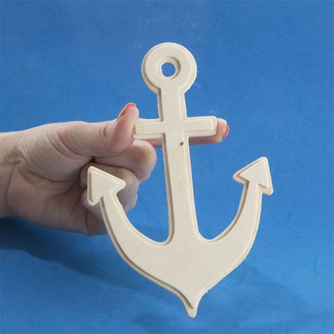 unfinished wood anchor cutout wood cutouts unfinished