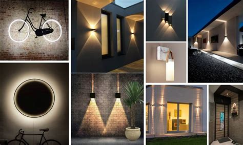 outdoor wall lights ideas    acha homes