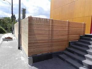 Welches Holz Für Gartenzaun : schallschutzzaun selber bauen fur gartenbank ~ Lizthompson.info Haus und Dekorationen