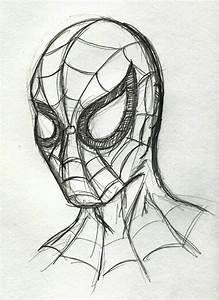 Spiderman drawing | Easy Drawings | Pinterest | Superhero ...