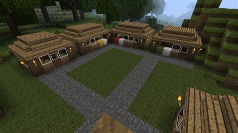 wiprustic farm town  ideas screenshots show  creation minecraft forum