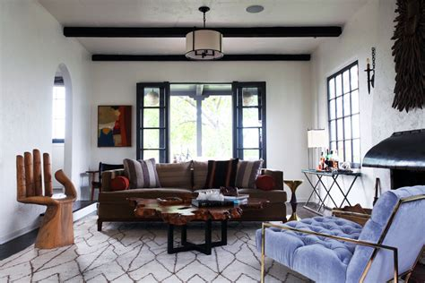 eclectic living room designs