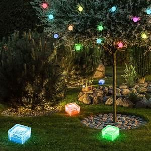 Led Lampen Garten : 5er set rgb led leuchten garten veranda h nge beleuchtung glas steh lampen farbwechsel ~ A.2002-acura-tl-radio.info Haus und Dekorationen