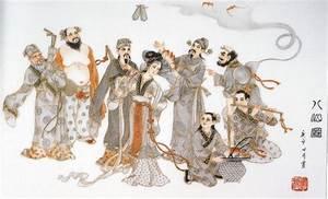 Lán Cǎi-hé, Larn Caai-her 藍采和 of the Eight Immortals | P.A ...