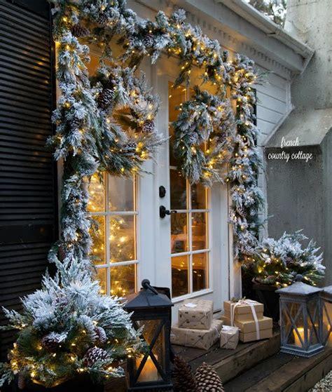 christmas door decorating ideas balsam hill artificial
