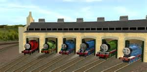 chatting at tidmouth sheds by mh1994 on deviantart
