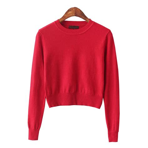 best sweaters crop top sweater 2015 fashion knitted oversized pink