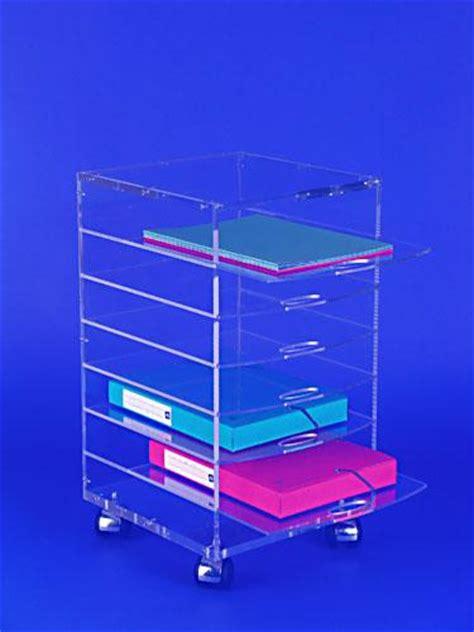 bureau plexiglas caisson de bureau mobile plexiglas ref crl