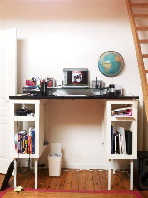 bureau pour travailler bureau debout mettez votre chaise de bureau au placard