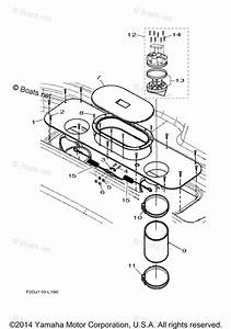 Yamaha Boat Parts 2012 Oem Parts Diagram For Jet Unit 4