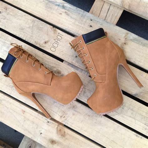 shoes heels booties combat boots high heel boots high