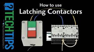Tech Tip  How To Setup And Use Latching Contactors
