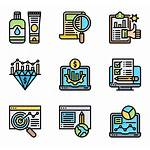Icon Contents Marketing Packs Icons Vector