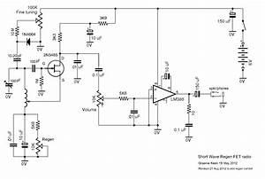 simple superheterodyne radio schematics simple free With radio circuit diagram in addition tube regenerative receiver schematic