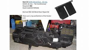 2002 Dodge Ram 1500 Slt  U2013 Blend Door