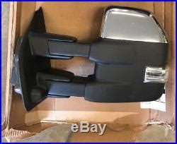 oem   ford   trailer tow mirror left driver