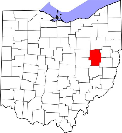 File:Map of Ohio highlighting Tuscarawas County.svg Facts ...