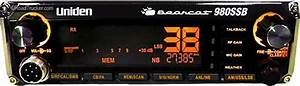 Uniden Cb Radio Ssb  7 Color Display Bearcat980 W  Noaa