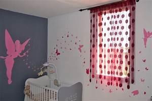 Deco Chambre Bebe Fille : deco chambre bebe fille papillon ~ Teatrodelosmanantiales.com Idées de Décoration