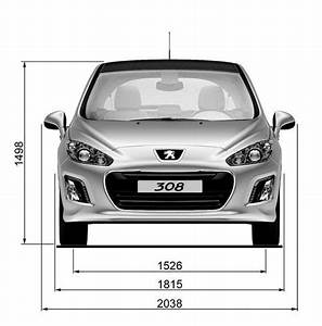 Dimensions 308 Peugeot : dimensions 2 10 peugeot 308 phase 2 2012 ~ Medecine-chirurgie-esthetiques.com Avis de Voitures