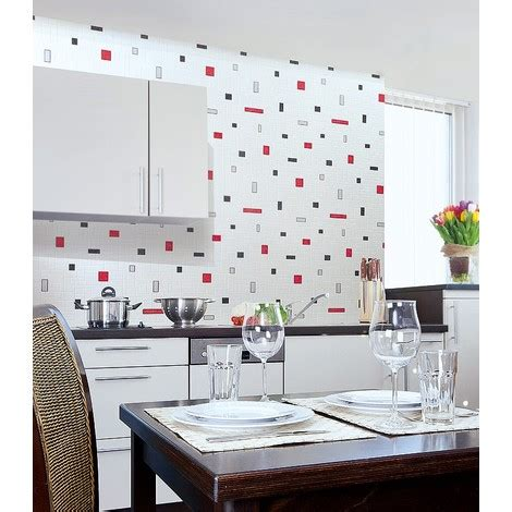 cuisine complete leroy merlin papier peint vinyle très résistant edem 584 26 aspect