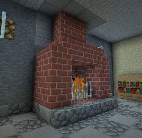 fireplaces minecraft furniture