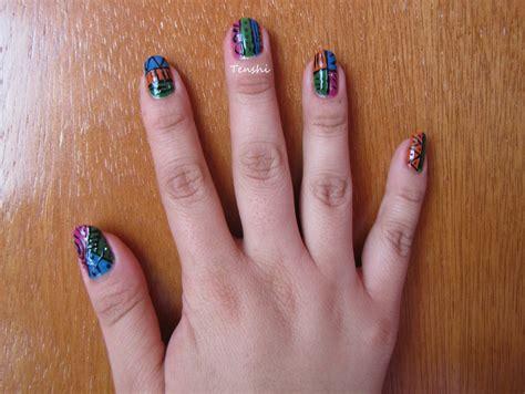 Conoce algunos de ellos y presume unas hermosas uñas. Nails by Tenshi: 31 días de uñas: Día 16, impresión tribal
