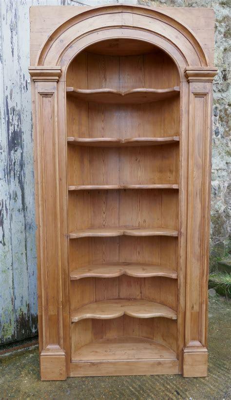 Georgian Corner Cupboard by Georgian Pine Alcove Shelf Corner Cupboard Antiques Atlas