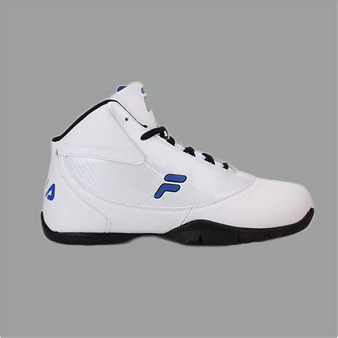 fila point field white basketball shoes buy fila point