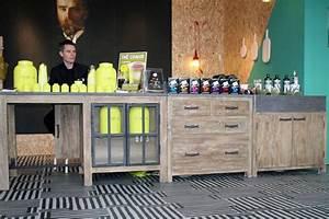 Table De Cuisine Maison Du Monde : d couvrez le stand c t maison sur maison et objet c t maison ~ Teatrodelosmanantiales.com Idées de Décoration