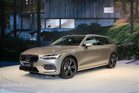 Volvo 2019 : 2019 Volvo V60 Steals The Unofficial Title Of Best-looking