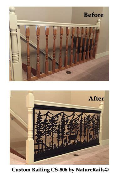 Whats A Banister by Stair Railing With Before After Photos Upgrade Your