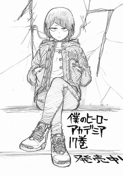 Academia Hero Sketch Horikoshi Jirou Ft Character