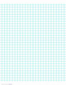 Printable Grid Paper 1 4 Inch 3 Lines Per Inch Graph Paper On Letter Sized Paper Free