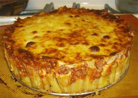 Martha Stewart Rigatoni Pasta Pie