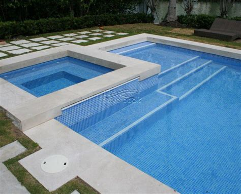 Waterline Pool Tile Designs by 1000 Images About Pools On Decking